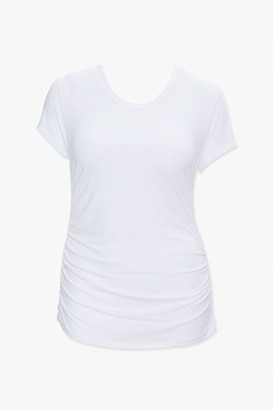 Forever 21 Plus Size Ruched Tee