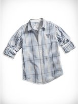 GUESS Big Boy Gingham Shirt (8-20)