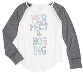 C&C California Perfect Is Boring Tee (Big Girls)