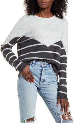 Vero Moda Colorblock Stripe Sweater