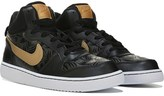 Nike Kids' Court Borough Mid Top Sneaker Grade School