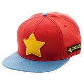 Bioworld Baseball Cap - Steven Universe - Logo Red Snapback Hat sb3czrsun