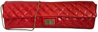Chanel 2.55 Red Patent leather Clutch bags