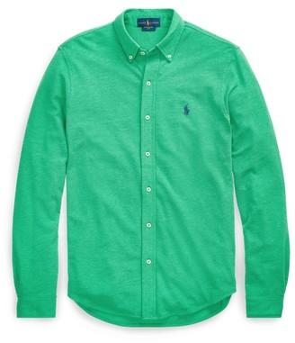Ralph Lauren Classic Fit Cotton Mesh Shirt