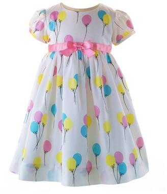 Rachel Riley Balloon Print Dress (6-24 Months)