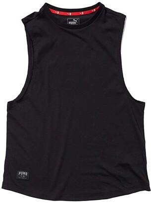Puma AL Loose Tank (Whisper White) Women's Clothing