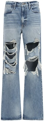 Frame Le Hollywood Destroyed Baggy Jeans