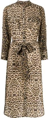 Veronica Beard Leopard Print Dress