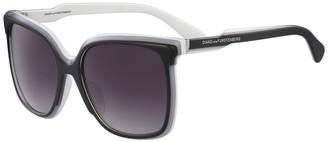 Diane von Furstenberg 56mm Karlie Square Sunglasses