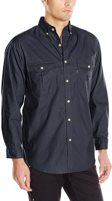 Key Apparel Men's Big-Tall Long Sleeve Rip Stop Shirt
