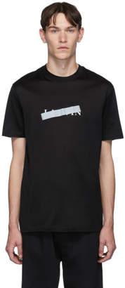 Lanvin Black Bar Logo T-Shirt