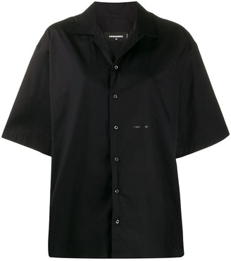DSQUARED2 oversized short-sleeved shirt
