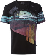 Just Cavalli beach print T-shirt - men - Cotton - L