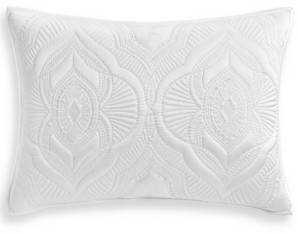 Hotel Collection Classic Medallion Quilted King Sham, Created for Macy's Bedding