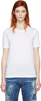 DSQUARED2 White Round Neck T-Shirt