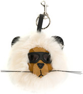 Stella McCartney bear keyring - women - Artificial Fur/Polyamide/Polyurethane - One Size