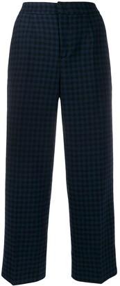 Woolrich Check Print Trousers