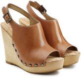 Sam Edelman Peep-Toe Wedge Sandals