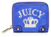 Juicy Couture Royal Iconic Velour Small French Purse