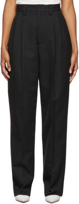 Marc Jacobs Grey Pleated Trousers
