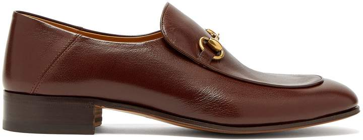 Gucci Mister New leather loafers