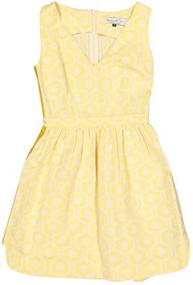 N. Mademoiselle Tara \N Yellow Cotton Dresses
