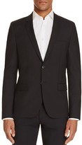 HUGO Textured Solid Slim Fit Sport Coat