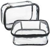 SHANY Slumber Party Cosmetics Clear Waterproof Travel Bag
