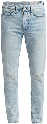 Rag & Bone Fit 1 Skinny Distressed Jeans