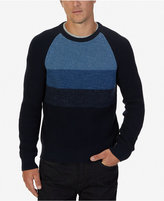 Nautica Men's Raglan Colorblocked Sweater
