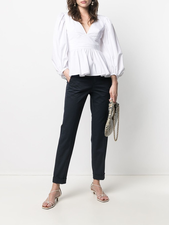 Thumbnail for your product : Peuterey Straight Leg Cotton-Blend Trousers