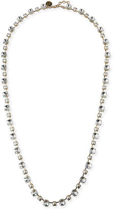 "Rebekah Price Margot Long Crystal Necklace, 38""L"