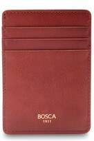 Thumbnail for your product : Bosca Colorblock Leather Front Pocket Money Clip Wallet