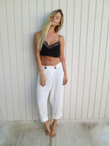 Tysa Wrap Pant In Off White