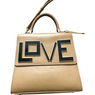 Les Petits Joueurs Camel Leather Handbags