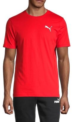 Puma Regular-Fit 3D Logo Cotton T-Shirt