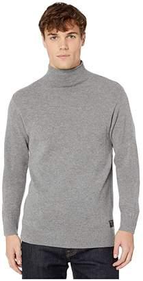 Scotch & Soda Chic Soft Wool-Blend Pullover (Charcoal Melange) Men's Clothing