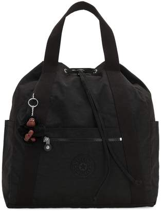 Kipling Medium Art Nylon Tote Backpack