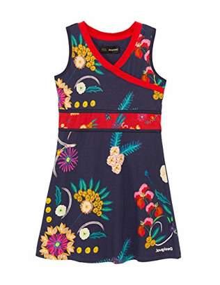 Desigual Girls' Vest_Playadelcarmen Dress