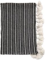Soleil Maroc Handmade Blanket W/ Tassels