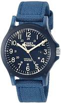 Timex Unisex TW4B09600 Expedition Acadia Mid-Size Nylon Strap Watch