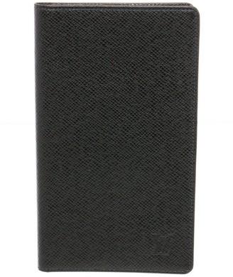Louis Vuitton Dark Green Taiga Leather Passport Holder