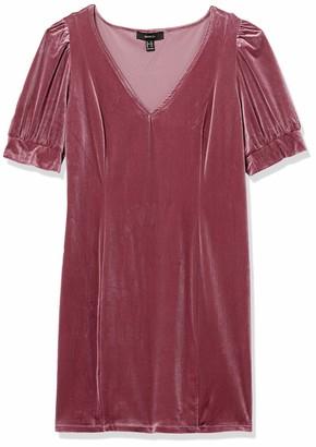 Forever 21 Women's Plus Size Velvet Mini Dress
