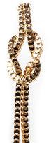 Oasis Knot Tassle Earrings