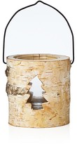 Bloomingdale's Birch Wood Candle Holder