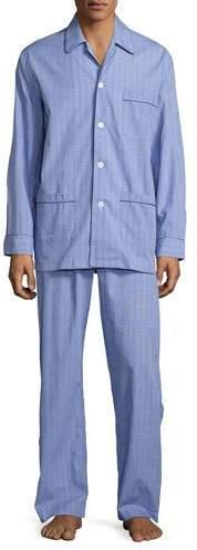 Derek Rose Glen Check Cotton Pajamas, Multi