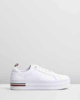 Tommy Hilfiger Corporate Flatform Sneakers