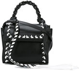 Elena Ghisellini contrast stich tote - women - Leather - One Size