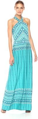 BCBGMAXAZRIA Azria Women's Liena Knit Cross Front Dress