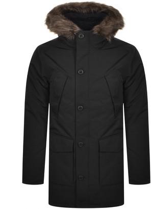 Superdry Hooded Everest Parka Jacket Black